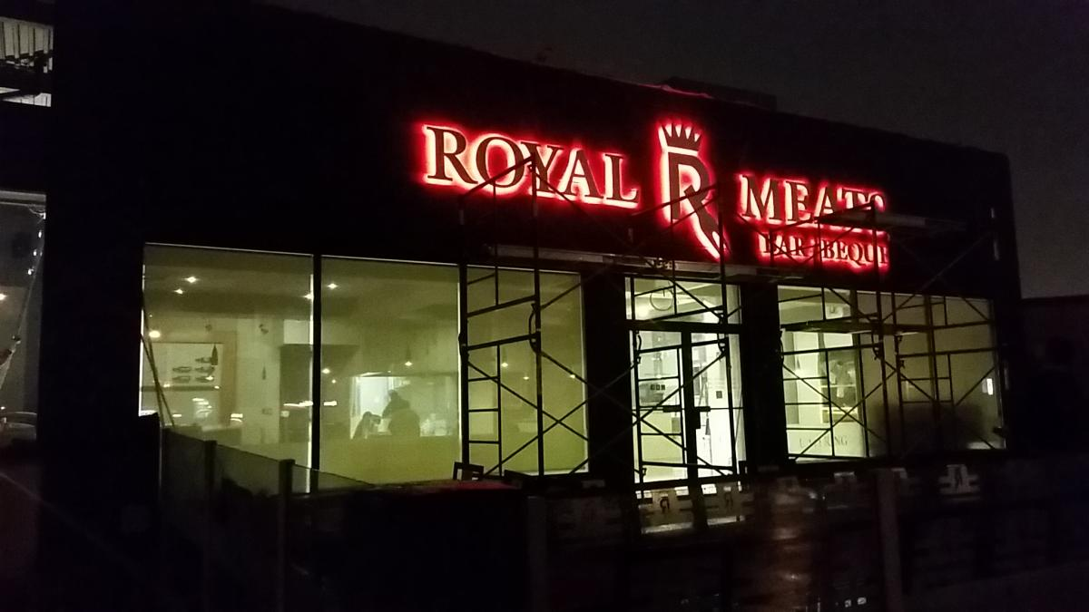Royal Meats BBQ Expansion