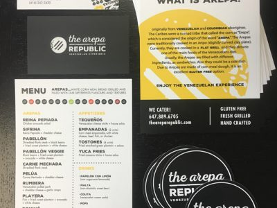 The Arepa Republic Cards