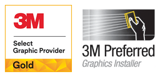 Gold 3M Select Graphic Provider & 3M Preferred Graphics Installer