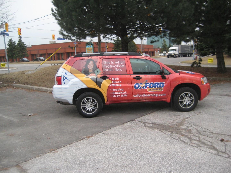 Vehicle Wraps and Window Graphics