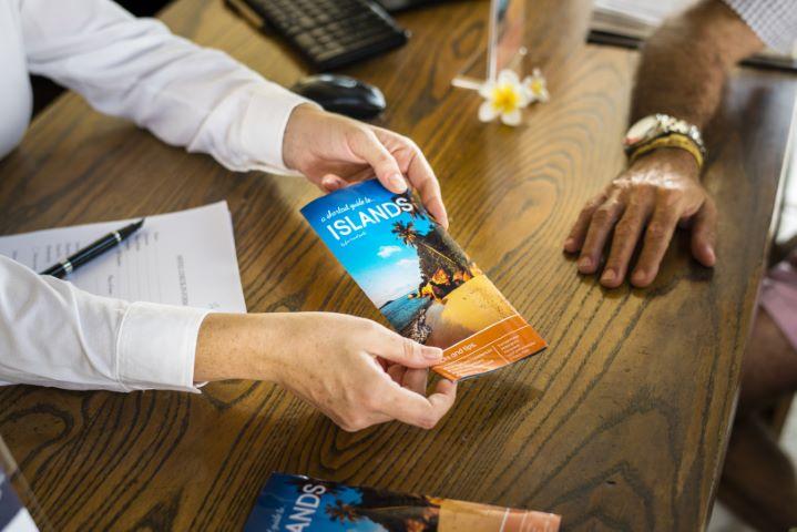 Hospitality Marketing materials